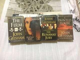 John Grisham Classics Bundle + Free Shipping in Metro Manila ✨