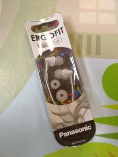 Panasonic RP-HJE125 EGROFIT stereo Earphones 耳筒 立體聲耳機