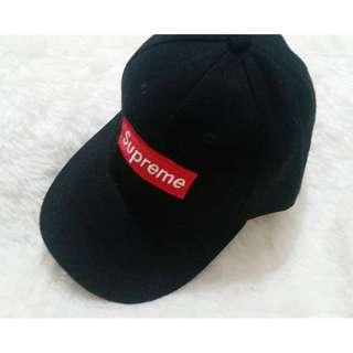 Black Supreme Baseball Cap
