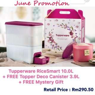 Tupperware RiceSmart + 2gift