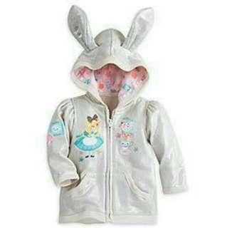 Alice in Wonderland hoodie jacket for babies