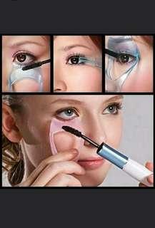 3 in 1 Mascara Guard Eyelash Brush Curler Lash Comb Cosmetic Makeup Cosmetic