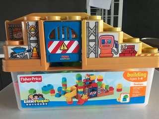 Preloved Fisher Price builder blocks