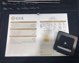 GIA 証書 0.70份 祼鑽