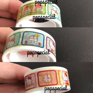 Hello Kitty Deco Tape Trinket 15mm x 3M