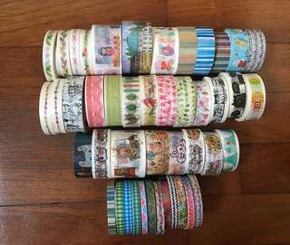 (Instock) Assorted Washi Tapes 1