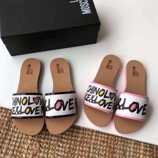 LOVE ❤️Moschino 拖鞋/涼鞋 3️⃣ colours