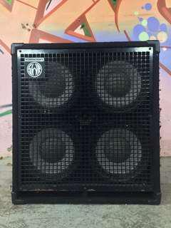 SWR Workingmans 4 x 10 Bass Speaker Cabinet