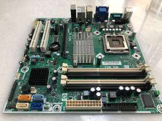LGA775 Motherboard with CPU Core2 Duo E7500