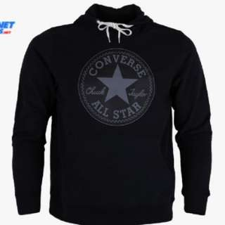 Converse Core Graphic Pullover Hoodie Black