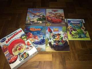Disney adventures ( 5 hard copies)