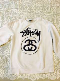 100% authentic stussy sweater