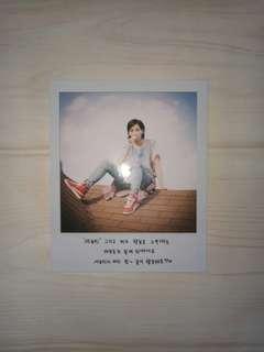 SEVENTEEN Jeonghan Love & Letter Polaroid