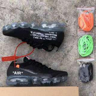 🚚 Nike Air VaporMax 10X OFF WHITE Black Ice Blue