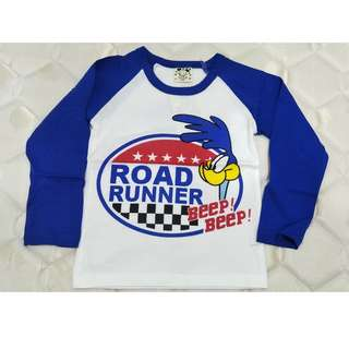 Blue & White Long Sleeves T-shirt