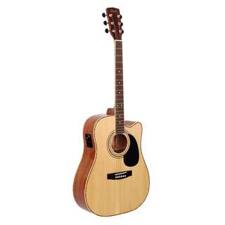 CORT AD 880 CE SOLID TOP ACOUSTIC GUITAR WITH BAG