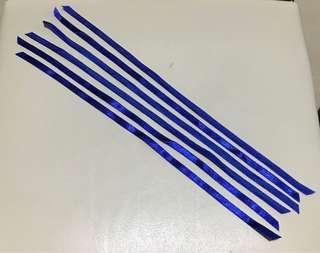 絲帶10寸6條(寶藍色)✨全新,請看內文✨
