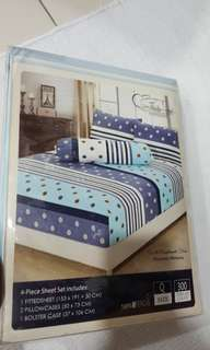 [New & free postage]Bed sheet set(Q size)
