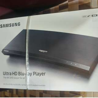 全新三星藍光碟機 , 未開封 , 一年保養 Samsung 4K Ultra HD Blu Ray Player [Brand New] with 1 year warranty.