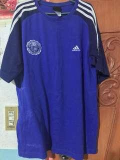 Adidas Ateneo blue shirt