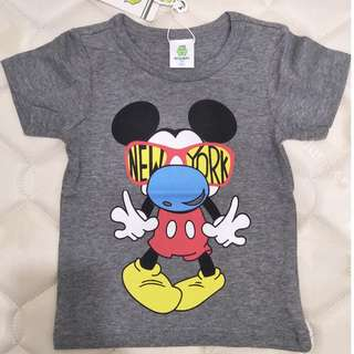 Mickey Mouse Grey T-shirt