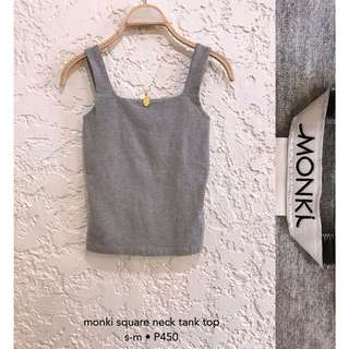 Monki Square Neck Tank Top