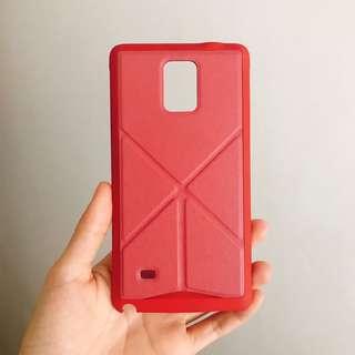 Samsung Note 4 case手機殼 可立式 99%new
