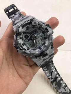 GA-700 CAMOUFLAGE GSHOCK WATCH