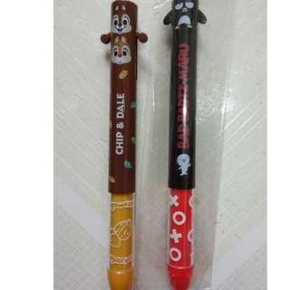 [包平郵]全新日本製 sanrio  雙色筆 兩色筆
