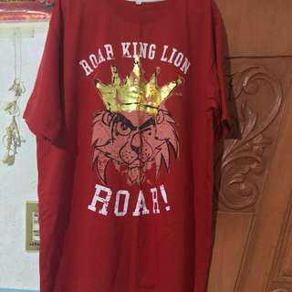 San Beda Lions Red shirt 2XL