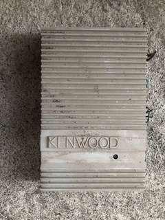 KENWOOD  STEREO POWER AMPLIFIER (汽車音響立體聲放大器,兩件)