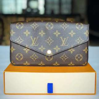 Authentic| Brand-new| Louis Vuitton Felicie in Monogram