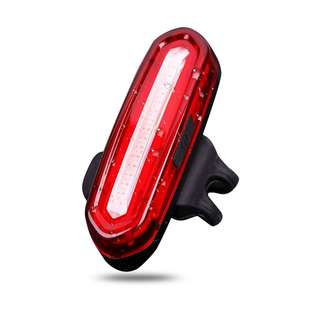 USB Rechargeable Rear / Tail Light / Torch / Flashlight / Bike / Bicycle Light