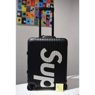Rimowa X Supreme 45L Black Topas Suitcase