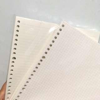 🚚 muji loose papers