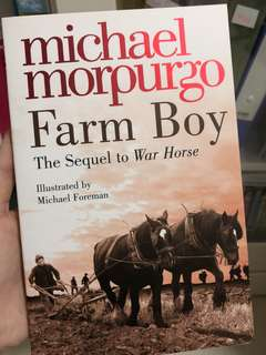 michael morpurgo 'farm boy' book