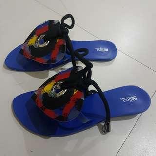 Melissa Make II Sand Plat Sandals