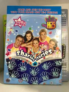 Hi-5 Sharing Stories DVD