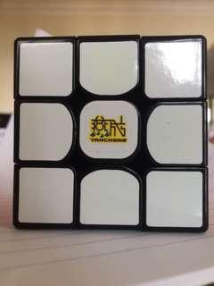 3x3 speedcube set-up