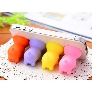 🌼C-1161 Cute Pig Sucker Phone Holder🌼