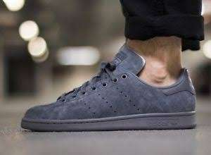 Adidas Stan Smith Onix Suede Gray