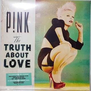 Vinyl Double LP : P!NK - The Truth About Love (Limited Edition Mint Green Vinyl)