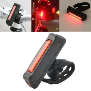 USB Rechargeable 100 Lumen Rear / Tail Light / Torch / Flashlight / Bike / Bicycle Light