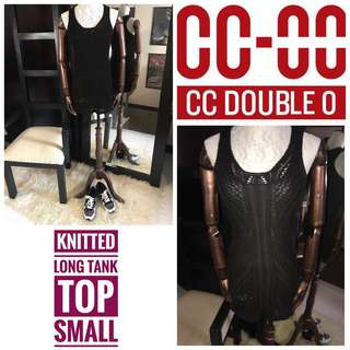 CC Double O Knit Tank Top