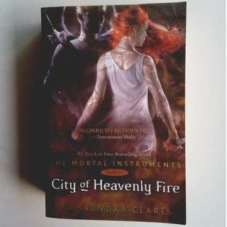 The Mortal Instruments: City of Heavenly Fire (Paperback)