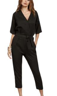 Black office corporate Jumpsuit M