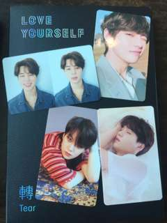Love Yourself: Tear (Unsealed) Y,O,U