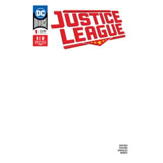 Justice League #1 Blank Cover