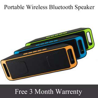 🚚 Portable Wireless Speaker Stereo Bluetooth Receiver with Microphone HIFI Altoparlante TF Card