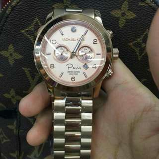 MK AUTHENTIC ROSEGOLD PARIS WATCH